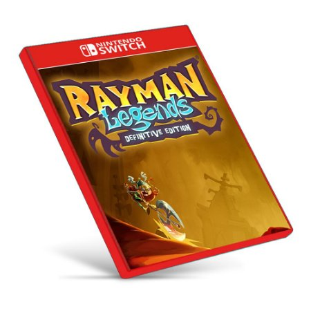 Rayman Legends Definitive Edition - Nintendo Switch - Mídia Digital