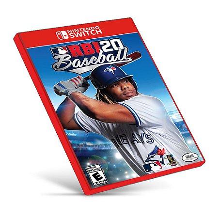 R.B.I. Baseball 20 - Nintendo Switch - Mídia Digital