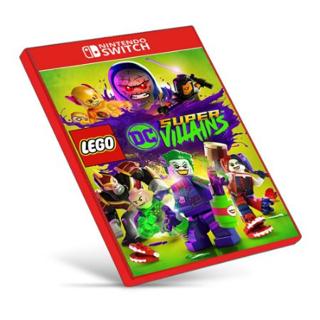 LEGO DC Super-Villains - Nintendo Switch - Mídia Digital
