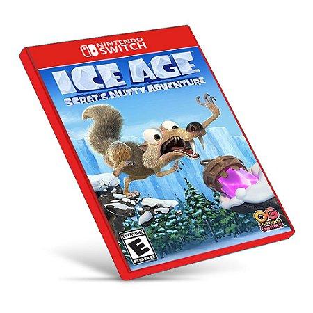 Ice Age Scrat's Nutty Adventure! - Nintendo Switch - Mídia Digital