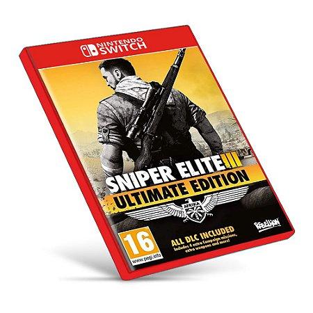 Sniper Elite 3 Ultimate Edition - Nintendo Switch - Mídia Digital