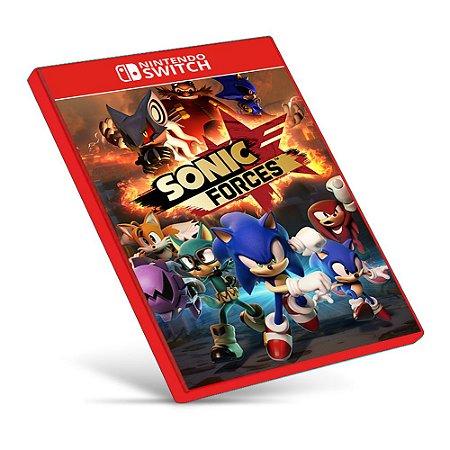 SONIC FORCES - Nintendo Switch - Mídia Digital