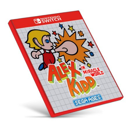 SEGA AGES Alex Kidd in Miracle World - Nintendo Switch - Mídia Digital