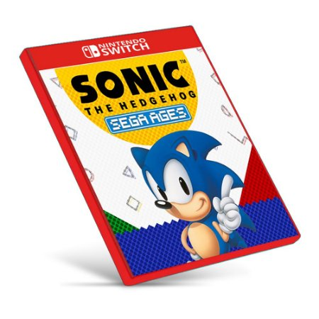 SEGA AGES Sonic The Hedgehog - Nintendo Switch - Mídia Digital