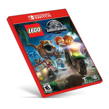 LEGO Jurassic World - Nintendo Switch - Mídia Digital