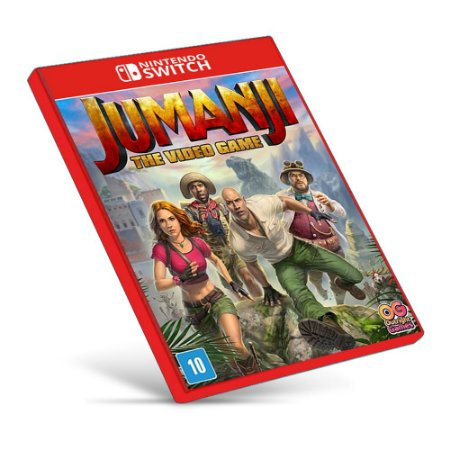 JUMANJI: The Video Game - Nintendo Switch - Mídia Digital