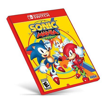 Sonic Mania - Nintendo Switch - Mídia Digital