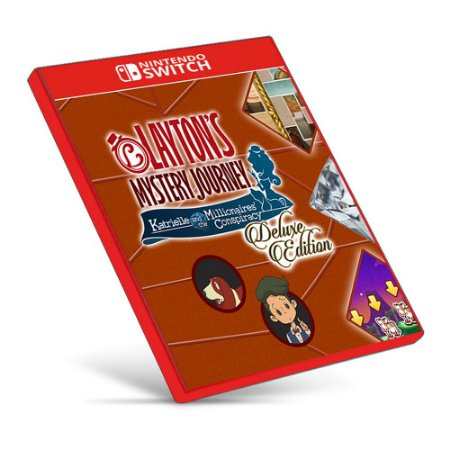 LAYTON'S MYSTERY JOURNEY: Katrielle and the Millionaires' Conspiracy - Nintendo Switch - Mídia Digital