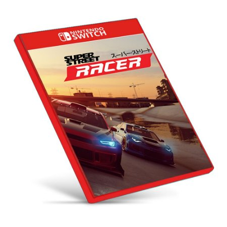 Super Street: Racer - Nintendo Switch - Mídia Digital