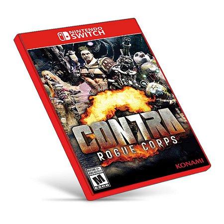 CONTRA: ROGUE CORPS - Nintendo Switch - Mídia Digital