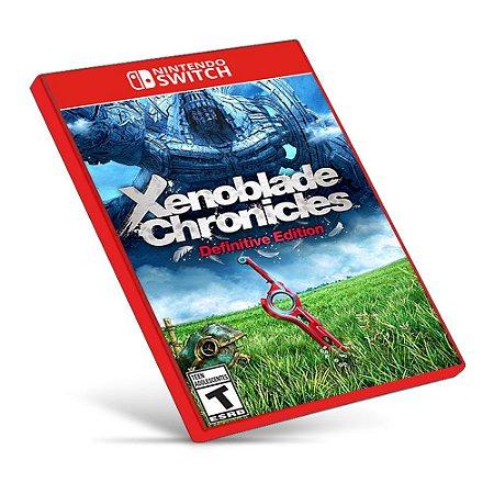 Xenoblade Chronicles: Definitive Edition - Nintendo Switch - Mídia Digital