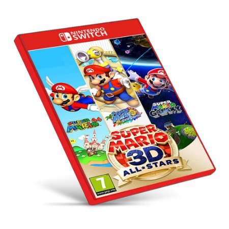 Super Mario 3D All-Stars - Nintendo Switch - Mídia Digital - One Games - Jogos Digitais