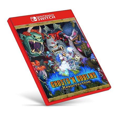 Ghosts 'n Goblins Resurrection - Nintendo Switch - Mídia Digital