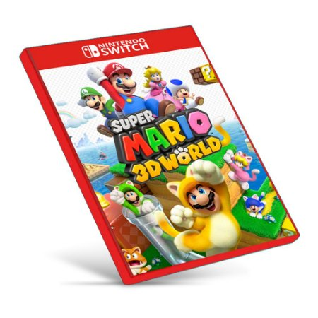 Super Mario 3D World + Bowser's Fury - Nintendo Switch - Mídia Digital