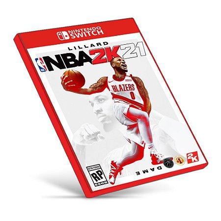 NBA 2K21 - Nintendo Switch - Mídia Digital