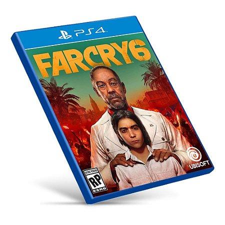 Far Cry 6 - PS4 - Mídia Digital