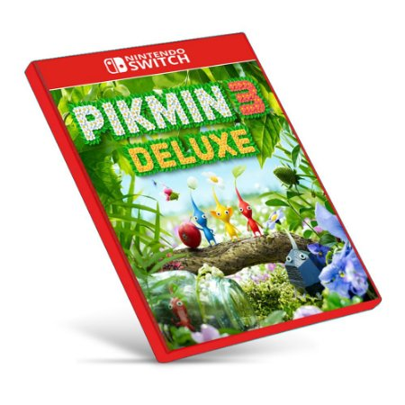 Pikmin 3 Deluxe - Nintendo Switch - Mídia Digital