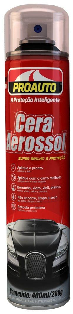Cera Aerossol 400ml - Proauto
