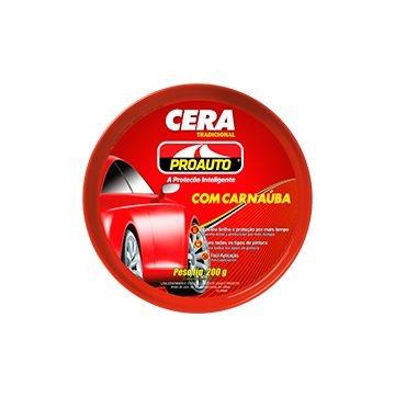 Cera Pasta Tradicional com Carnaúba 200gr - Proauto