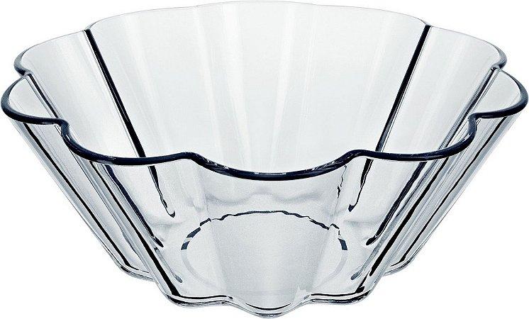 Forma Clássica Redonda 1,3 Litros S/ Tampa Flan-Brioche - Marinex - Nadir Figueiredo