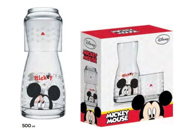 Jogo Moringa Disney Mickey 500ml Com 2 Peças - Nadir Figueiredo