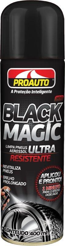 Limpa Pneus Black Magic 400ml - Proauto