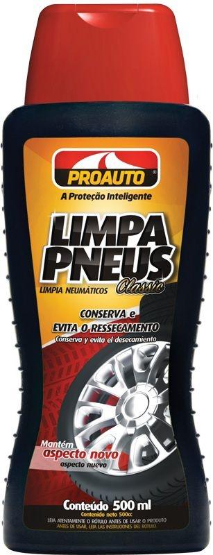 Limpa Pneus Classic 500ml - Proauto