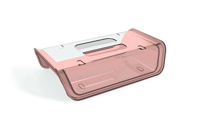 Porta Frios Rosa Translúcido – UZ