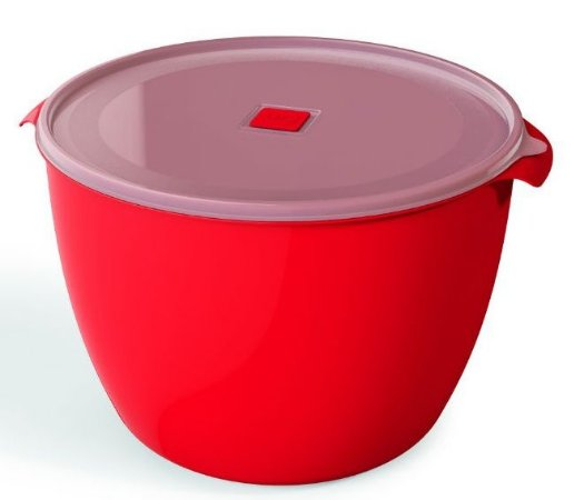 Pote Multiuso Premium 10 Litros Vermelho Sólido - UZ