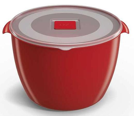 Pote Multiuso Premium 1,5 Litros Vermelho Sólido – UZ