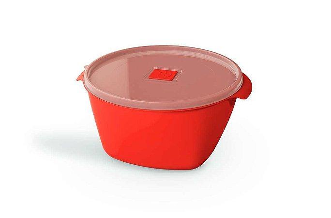 Pote Multiuso Premium 2 Litros Vermelho Sólido -  UZ