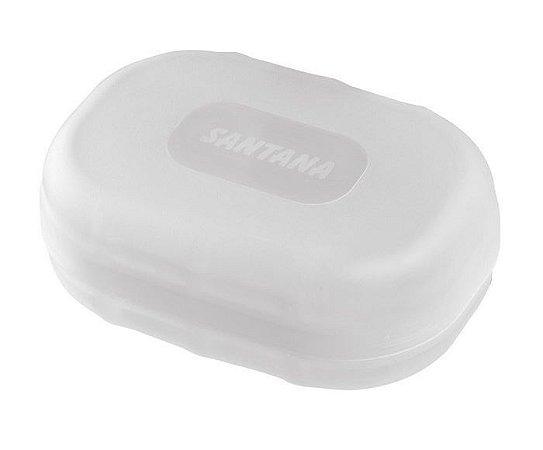Saboneteira Com Tampa - Cores Sortidas - Plástico Santana
