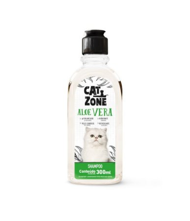 Shampoo Aloe Vera Cat Zone 300ml - Procão