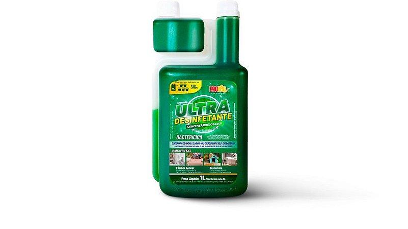 Ultra Desinfetante Concentrado com Dosador Citronela Procão 1 Litro - Proauto