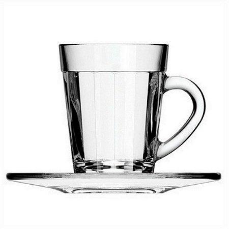 Xícara de Café com Pires Americano 90ml - Caixa com 12 peças – Nadir Figueiredo
