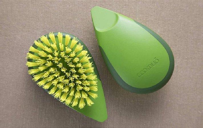 Escova para Limpeza de Legumes e Frutas - Cookduo