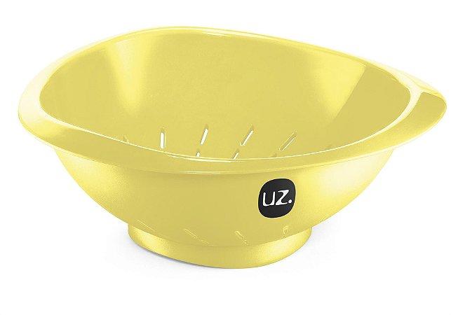 Escorredor de Massa Amarelo Claro Sólido - UZ