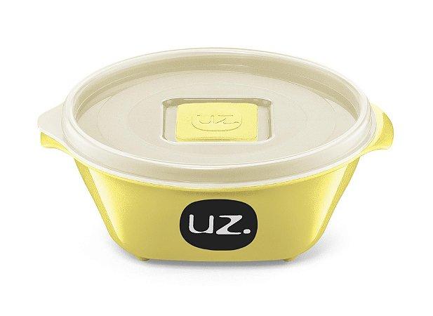 Pote Multiuso Premium 350ml Amarelo Claro Sólido - UZ