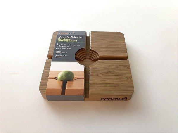 Placa De Corte Em Bamboo Para Frutas/vegetais - Cookduo