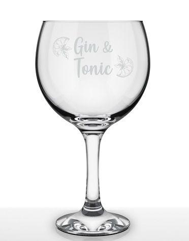 Taça Gin Tônica 600ml Caixa C/ 6 unidades – Nadir Figueiredo Decorada