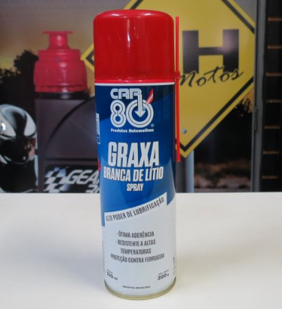 GRAXA BRANCA DE LITIO CAR 80