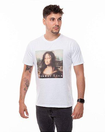 T-shirt Monday Lisa Masculina