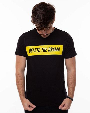 T-shirt Delete The Drama Masculina
