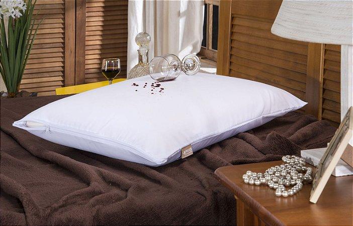 10 Capas Impermeável para travesseiro - Com Zíper