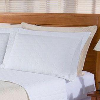 Porta Travesseiro Nobre - Percal 200 fios 100% Algodão