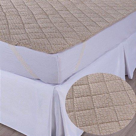 Pillow Top Junção - Com Alças Elásticas
