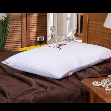 Capa Impermeável para travesseiro - Com Zíper