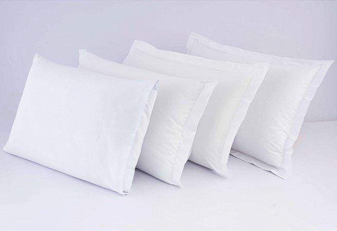 Fronha Avulsa Percal 150 fios 100% algodão - Branco