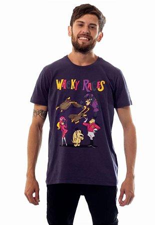 Camiseta Hanna Barbera Corrida Maluca Dick Vigarista