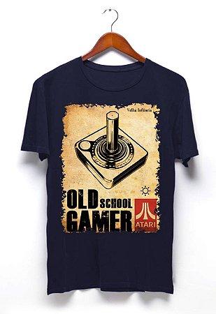 Camisa Controle Atari - Marinho